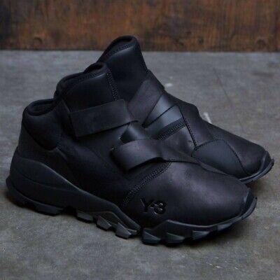 AUTH NEW Adidas Y-3 Ryo Core Black Sneakers Boost Shoes SZ 10.5 Yohji Yamamoto