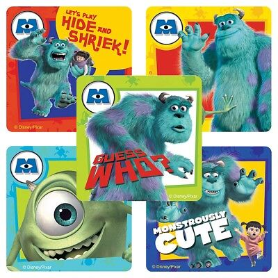 20 Monsters, Inc.  STICKERS Party Favors Supplies Birthday Treat Loot Bags](Monsters Inc Birthday Party)