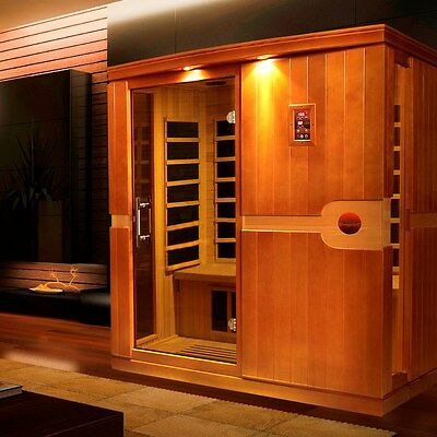Dynamic 3 Person Far Infrared Sauna Madrid ...