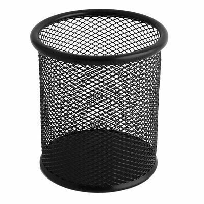 Office Metal Mesh Pen Pencil Ruler Stationery Holder Container Storage Organizer