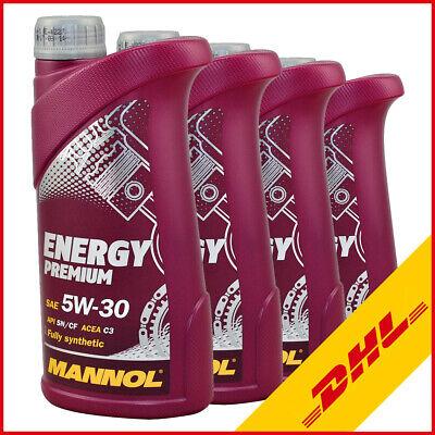 4L (4x1) Motoröl Energy Premium 5W-30 für MB 229.51 Dexos2 BMW LL-04