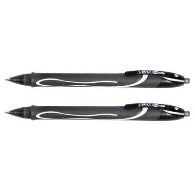 Bic Gel-ocity Black Gel Pens - 2-count