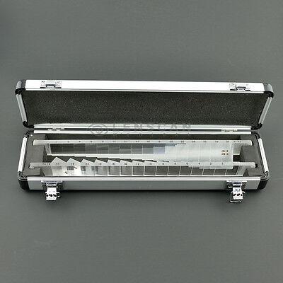 High Quality Horizontal And Vertical Prism Bar Set - Optometry Prism Bar Set