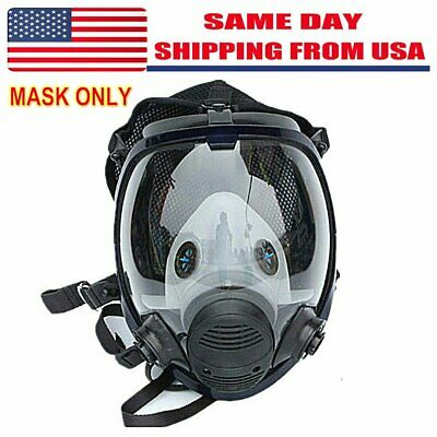 Respirator Gas Mask Full Face Painting Spray Facepiece Safety Mask For 6800 Us