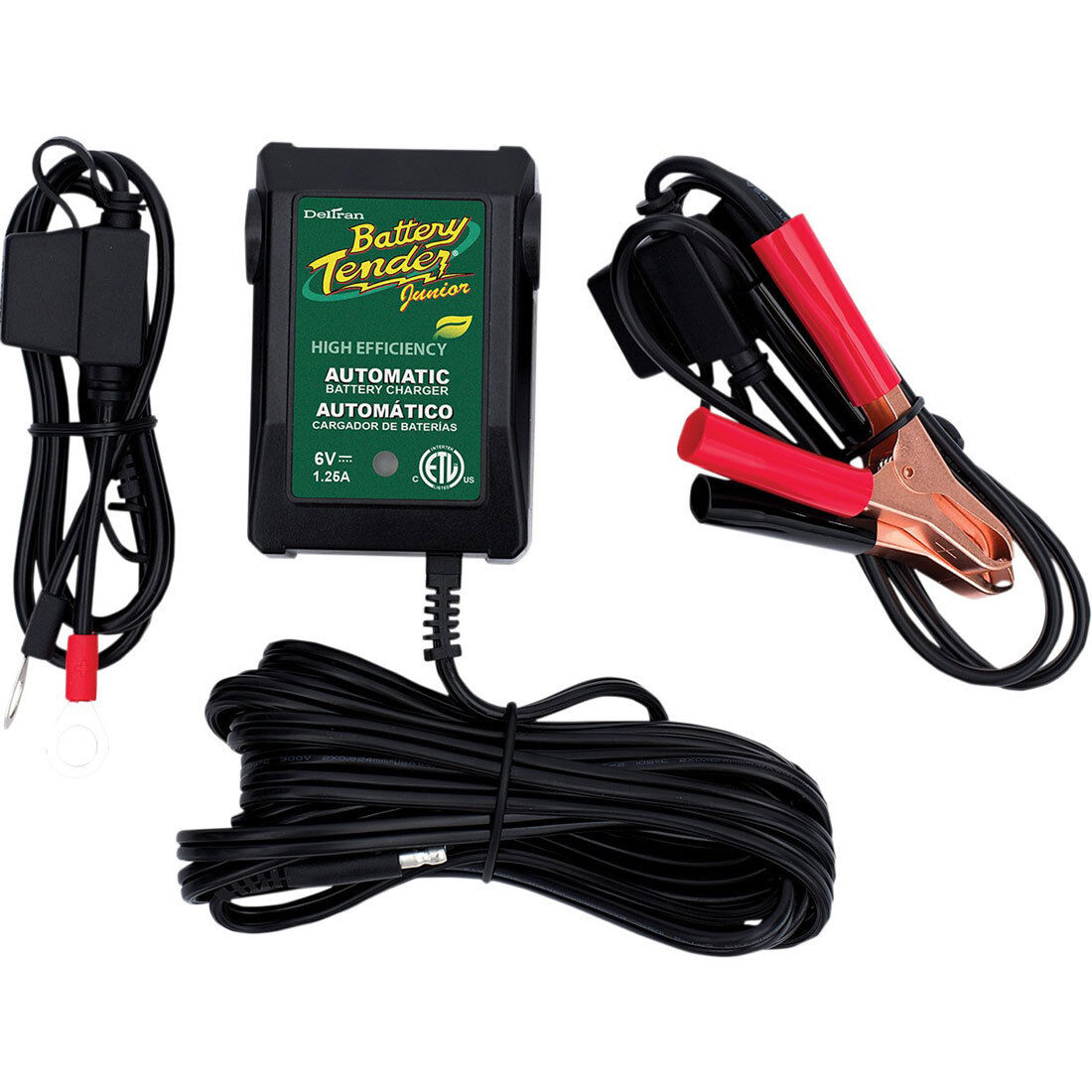 Owner Deltran Battery Tender Jr Junior Maintainer Charger 021-0123 12 Volt Trickle 12v
