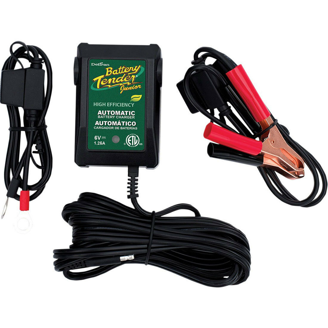 Deltran Battery Tender Jr Junior Maintainer Charger 021-0123 12 Volt Trickle 12v