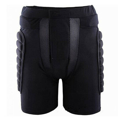 (BMX Motorcycle Race Shorts Pad Hip Protector Gear Impact Protection XL Y8B9)