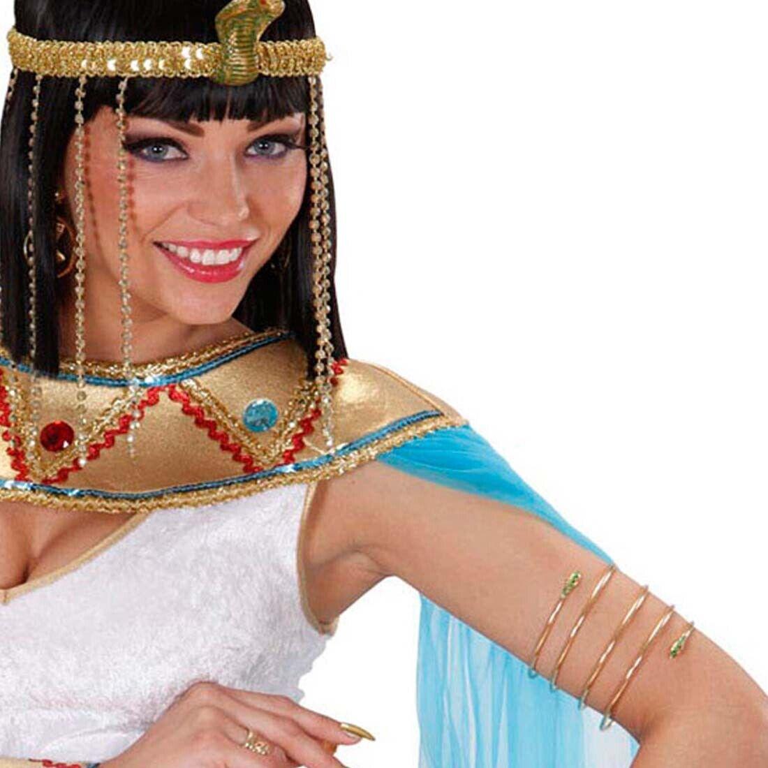 Schlangen Armband Cleopatra Armreif Schmuck Königin Antike Göttin Orient Kostüm