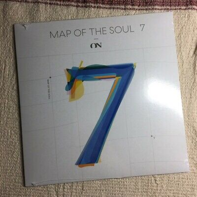 "BTS - MAP OF THE SOUL : 7 ON - 7"" VINYL LP Feat. Sia Limited Rare Sealed"