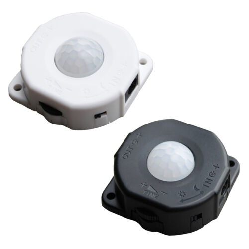 DC12V Automatische Infrarot Schalter PIR Bewegungssensor Detektor LED Licht .