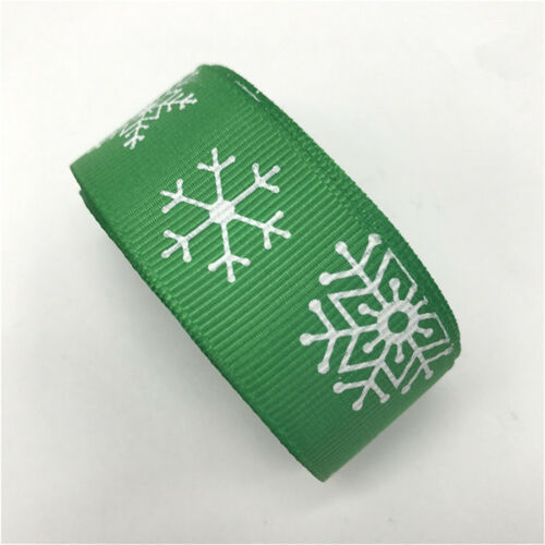 "как выглядит Лента и бант 5Yards 1"" (25mm) Christmas Ribbon Grosgrain Ribbon Hair Bow Christmas Decoration фото"