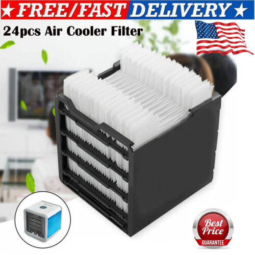 24PCS Replacement Filter For Arctic Air Personal Cooler Port