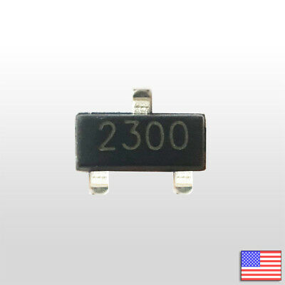 20x Si2300 3.6a 30v N-channel Mosfet Sot-23 - 20pcs - Fast Free Us Shipping