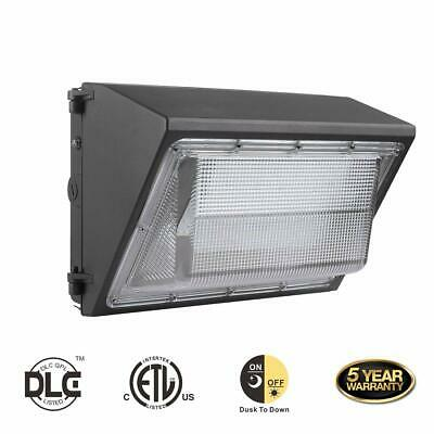 60W 80W 100W 120W LED Wall Pack Light 120V~277V Outdoor