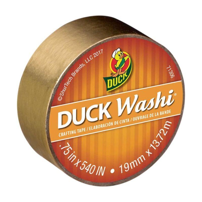 Metallic Gold Duck Washi Tape
