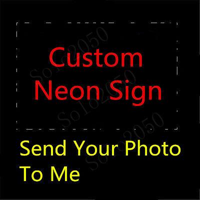 "Custom NEON LIGHT SIGN Glass Tube Display BEER BAR CLUB Decor Lamp Signs 1"""