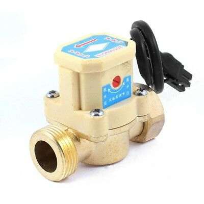 220v 100w 20mm Male Thread Connector Circulation Pump Water Flow Sensor Switch