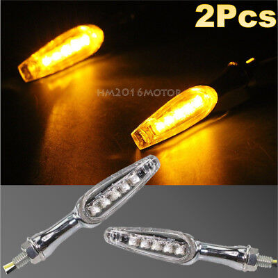2x LED Turn Signal Indicator For BMW K R S 800 650 1100 1200 1300 1600 Victory