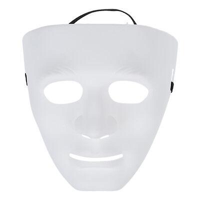 5x(Leere maennliche Maske Halloween Kostuem Drama Maske X2X6 U8X6 L8W2