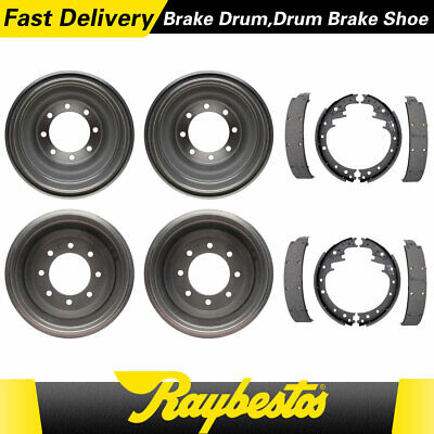 For 1969-1971 Fargo D200 Pickup Front & Rear Kit Brake Drums & Brake Shoes