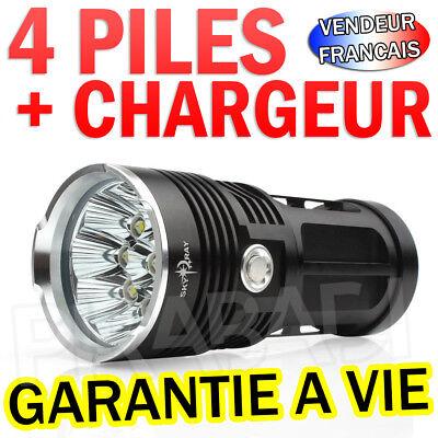 Raro - Completo Linterna Eléctrica 25000 Lumen 14 LED Flashlight Crea T6...