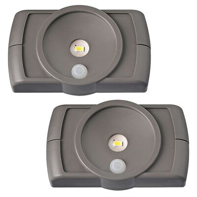 Mr Beams MB862, Indoor LED Slim Light, Motion-Sensing, Battery Powered, 2-Pack