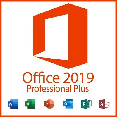 Microsoft Office 2019 Professional Plus Key (Word, Powerpoint, Excel)