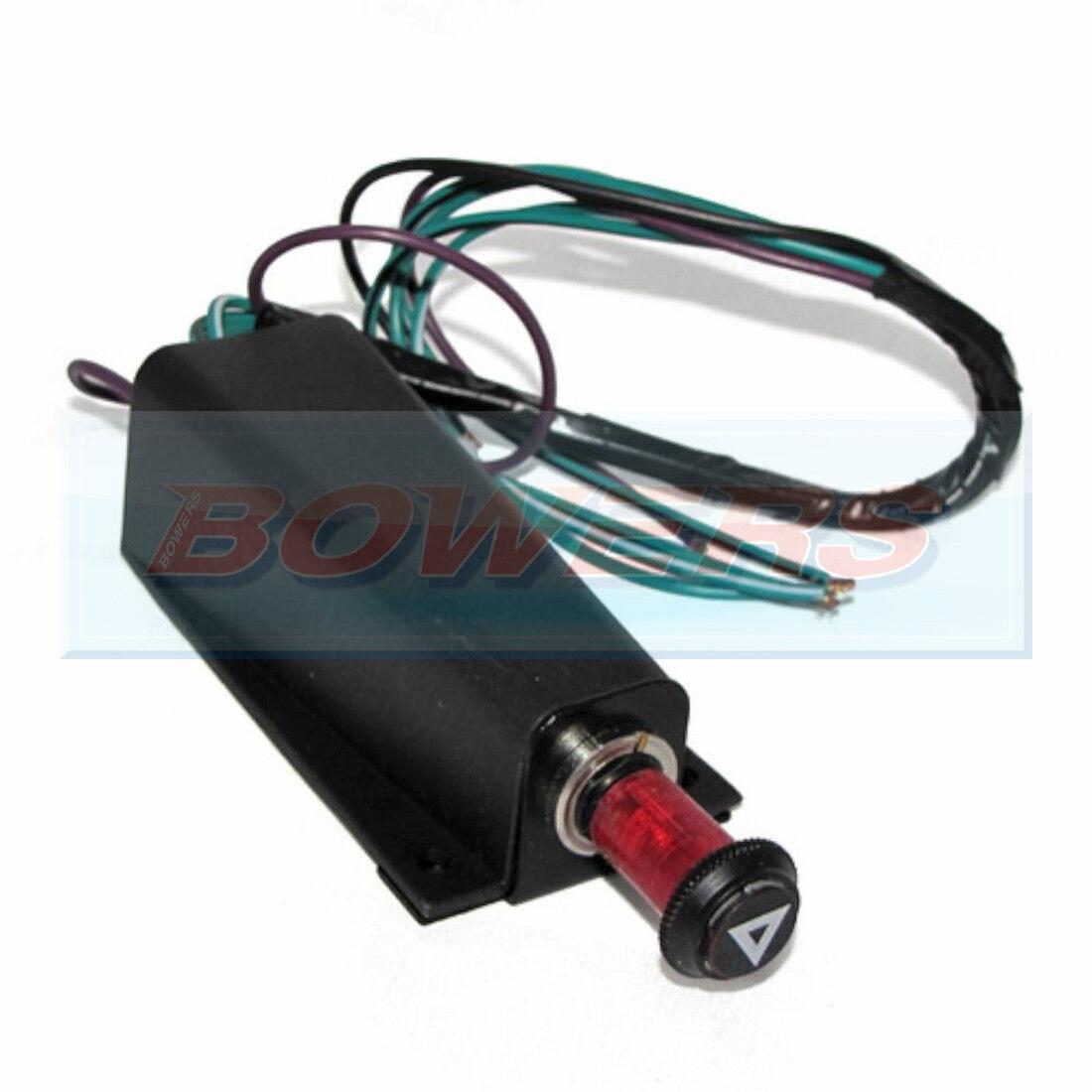 Lucas SFB300 12 V classic car Feux De Détresse Interrupteur relais avec support