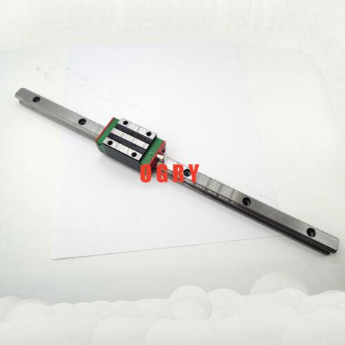 1 HGH15mm L-800 mm + 1pcs HGH15CA Schlitten 3D Druckmaschine linear Rail Slide