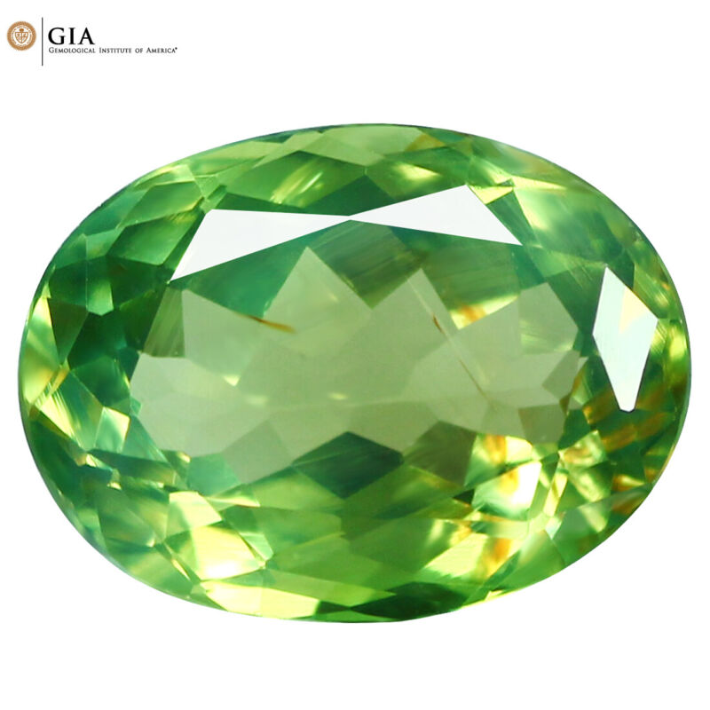 """1.08Ct """"GIA"""" Certified ULTRA RARE !! Green to Red Color Change Alexandrite !!!!!"""