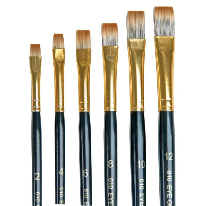 Dynasty Eye of The Tiger Shader Brush Set  - Set A: 6 Shaders