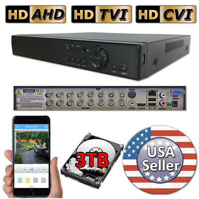 Sikker 16 Channel DVR camera Recorder system 960H 1080P HDMI