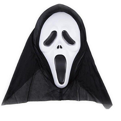 Halloween Newest Unisex Ghost Face Scream Mask for Masquerade Party Costume US (Scream Halloween Party)