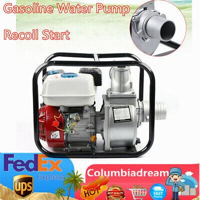 Gasoline Water Transfer Pump 7.5 Hp 3 High Pressure Petrol Irrigation 4 Stroke