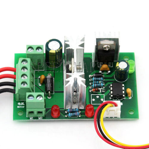 6-30V DC 6A PWM Motor Regulator Speed Control Switch Forward Reversal Rotation