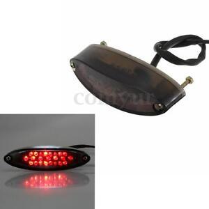 MOTORCYCLE LED REAR TAIL BRAKE STOP LICENSE NUMBER PLATE LIGHT FOR CUSTOM DIRT
