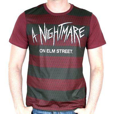 T-Shirts Nightmare on Elm Street Freddy Krueger Kostüm Pullover Herren offiziel