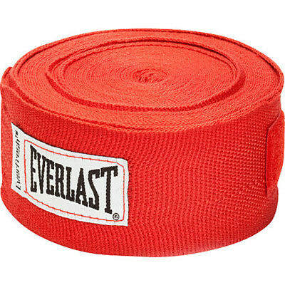 """Everlast Boxing 180"""" Mexican Handwraps - Red"""