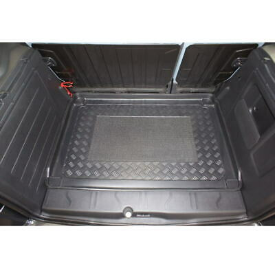Gummierte Kofferraumwanne für Peugeot Partner Tepee 2 Vor-Facelift Kleinbus 2008