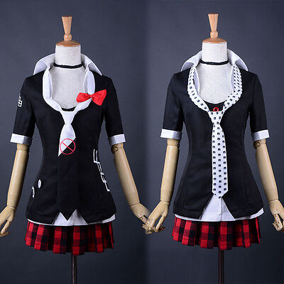 Danganronpa 2 Junko Enoshima Cosplay Costume Sexy Japanese High School Uniform
