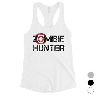 Womens Zombie Hunter Costume (365 Printing Zombie Hunter Womens Charming Cool Halloween Costume Tank Top)
