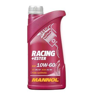 10W-60 Motoröl 1 Liter MANNOL Racing+Ester ACEA A3 B3 B4 API SN SM CF