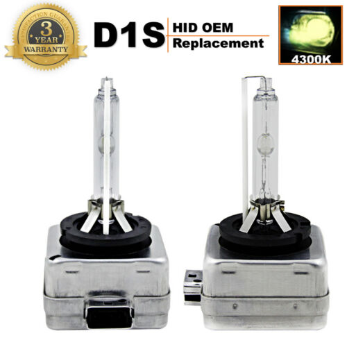 2x D1S Fit OSRAM CBI Golden Light 35W Xenon HID Bulbs 4300K Headlight