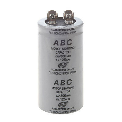 Ac 125v 300uf 300mfd 2 Terminals Polypropylene Film Motor Run Start Capacitor Dt