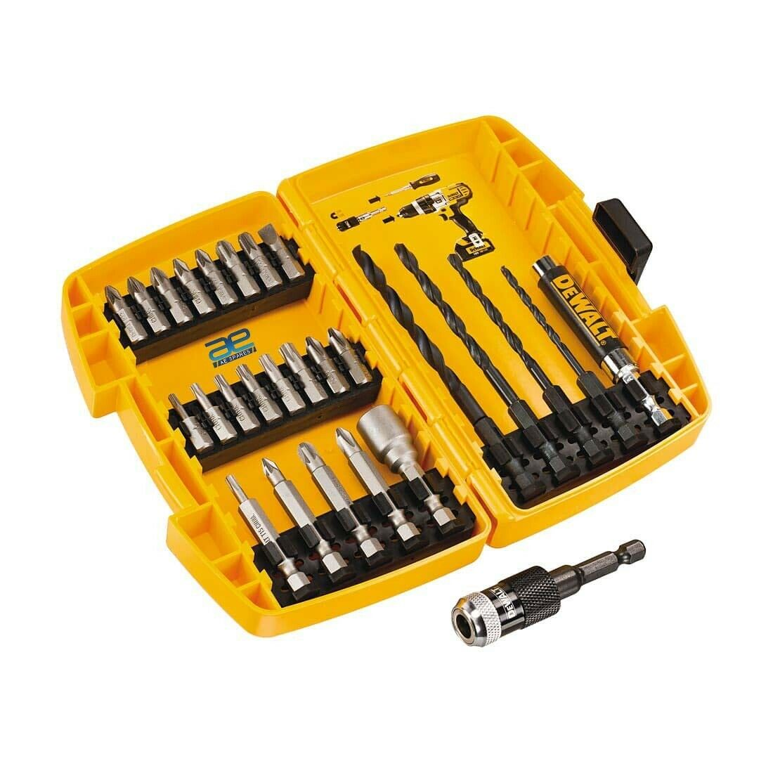 Dewalt 27 Pcs Compact Rapid Load BO Drill Drive GEc