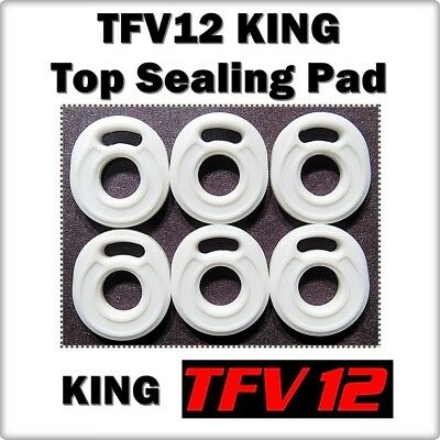 6 - TFV12 KING Top Sealing Base Pad ORings ( ORing O-Rings smok Gasket Seals )
