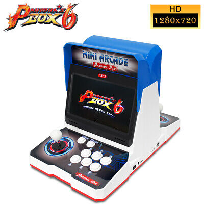 Pandora's Box 6 1300 in 1 Mini Arcade Video Game Console with Screens US Stock