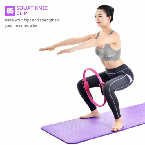 Pilates Ring Yoga Circle Muscle Exercise Fitness Body Trainer Magic Trainer Tool
