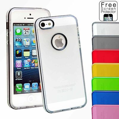 iPhone 5 5S Soft Gel Case Cover For Apple
