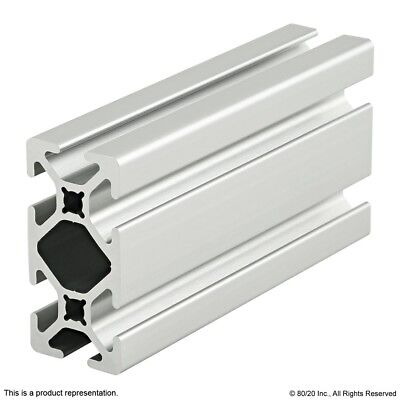 8020 Inc 10 Series 1 X 2 Smooth T-slot Aluminum Extrusion 1020-s X 48 Long N
